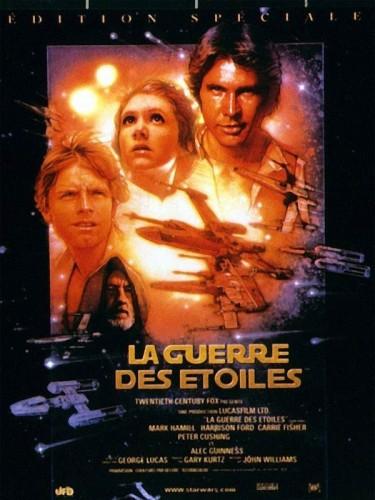 Affiche du film STAR WARS : LA GUERRE DES ETOILES ÉPISODE 4 - STAR WARS