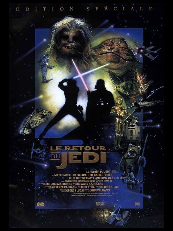 Affiche du film STAR WARS : LE RETOUR DU JEDI ÉPISODE 6 - STAR WARS : ÉPISODE 6 - RETURN OF JEDI