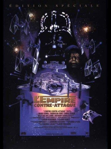 Affiche du film STAR WARS : L'EMPIRE CONTRE-ATTAQUE ÉPISODE 5 - STAR WARS : ÉPISODE 5 : THE EMPIRE STRIKES BACK