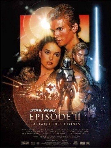 Affiche du film STAR WARS EPISODE 2 : L'ATTAQUE DES CLONES