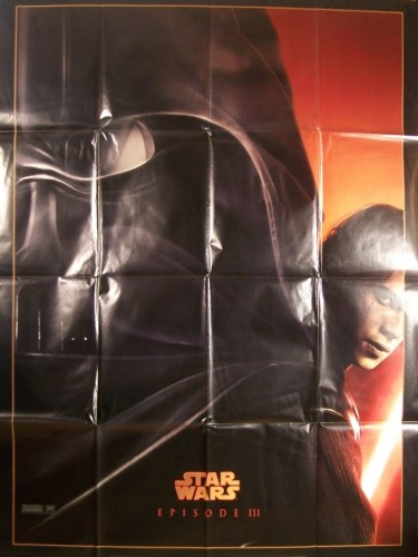 Affiche du film STAR WARS EPISODE III