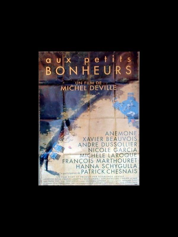 Affiche du film AUX PETITS BONHEURS