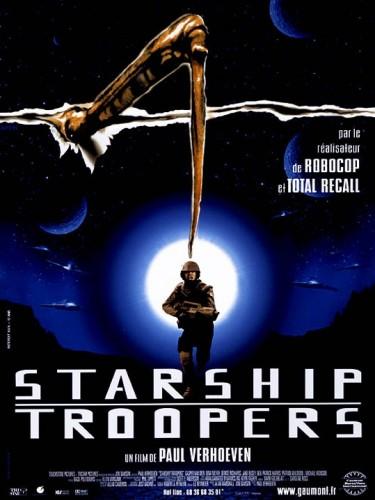 Affiche du film STARSHIP TROOPERS