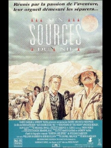 Affiche du film AUX SOURCES DU NIL - MOUNTAINS OF THE MOON