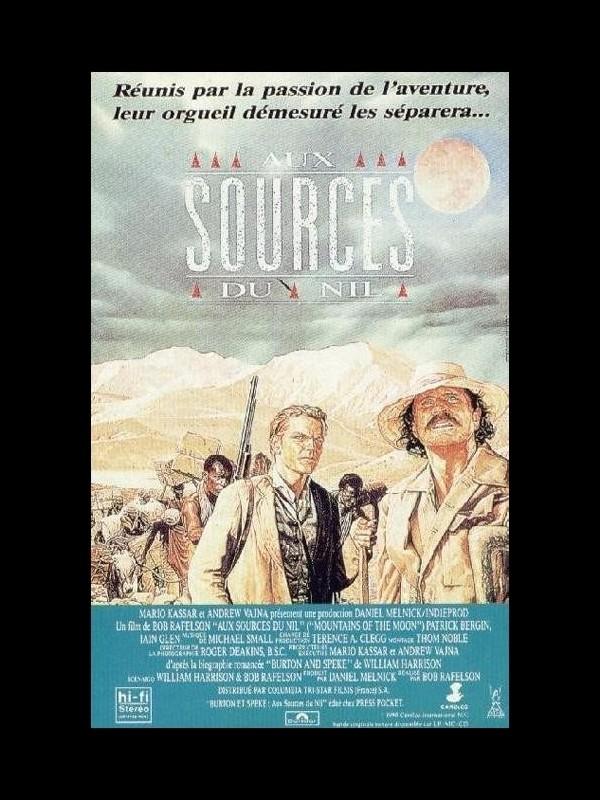 Affiche du film AUX SOURCES DU NIL - MOUNTAINS OF THE MOON