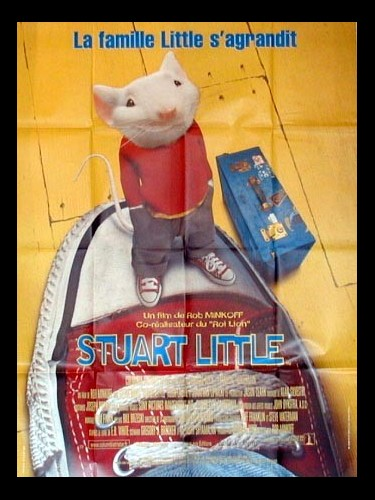 Affiche du film STUART LITTLE