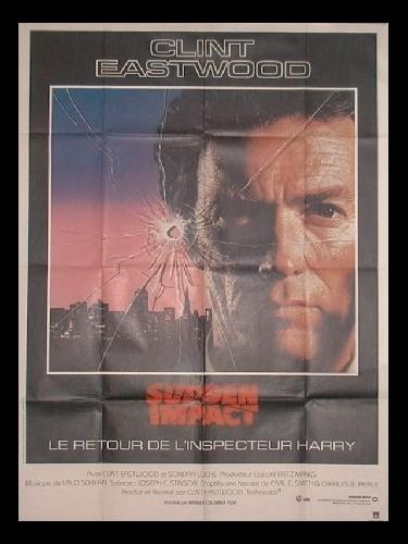 Affiche du film SUDDEN IMPACT LE RETOUR DE L'INSPECTEUR HARRY