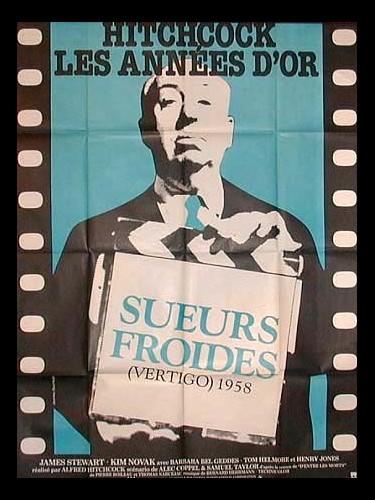 Affiche du film SUEURS FROIDES - VERTIGO