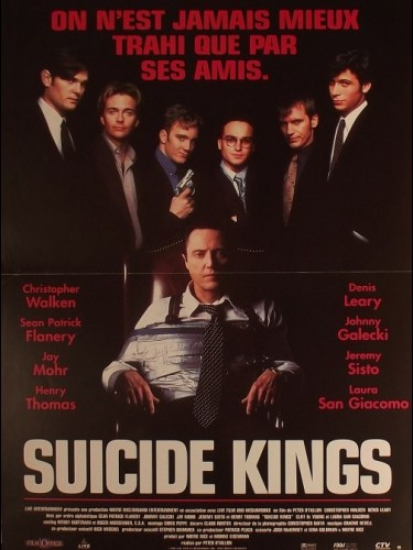 Affiche du film SUICIDE KINGS
