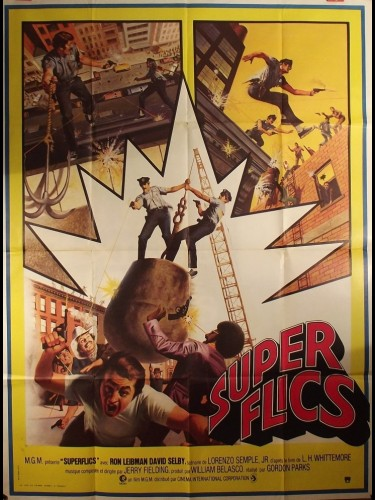 Affiche du film SUPER FLICS - THE SUPER COPS