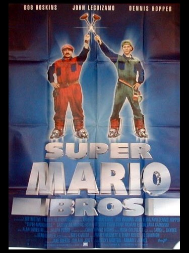 Affiche du film SUPER MARIO BROS - SUPER MARIO BROTHERS: THE MOVIE