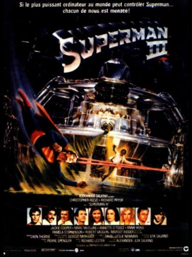 Affiche du film SUPERMAN 3