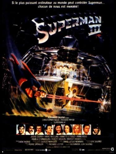 Affiche du film SUPERMAN 3