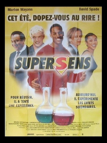Affiche du film SUPERSENS - SENSELESS