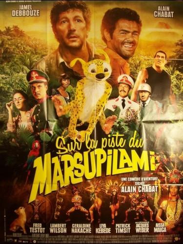 Affiche du film SUR LA PISTE DU MARSUPILAMI