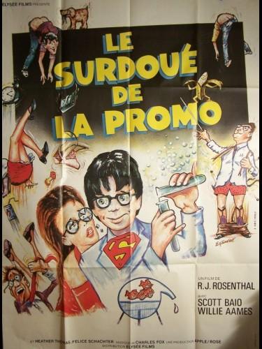 Affiche du film SURDOUE DE LA PROMO (LE)