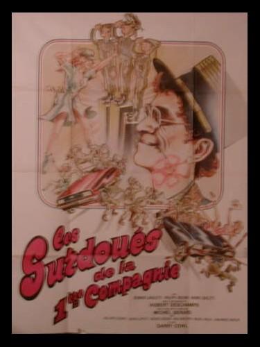 Affiche du film SURDOUES DE LA 1ERE COMPAGNIE (LES)