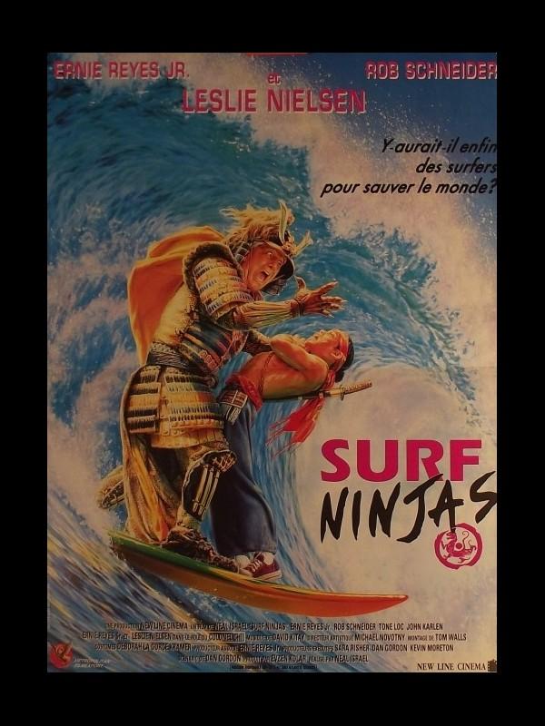Affiche du film SURF NINJAS