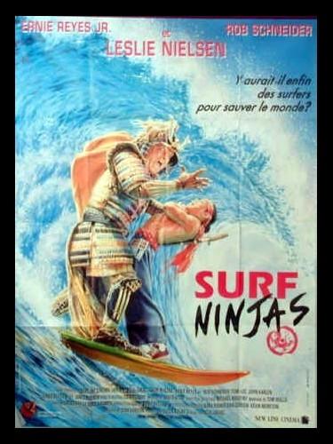 Affiche du film SURF NINJAS - LES FOUS DU SURF NINJA