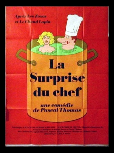 Affiche du film SURPRISE DU CHEF (LA)
