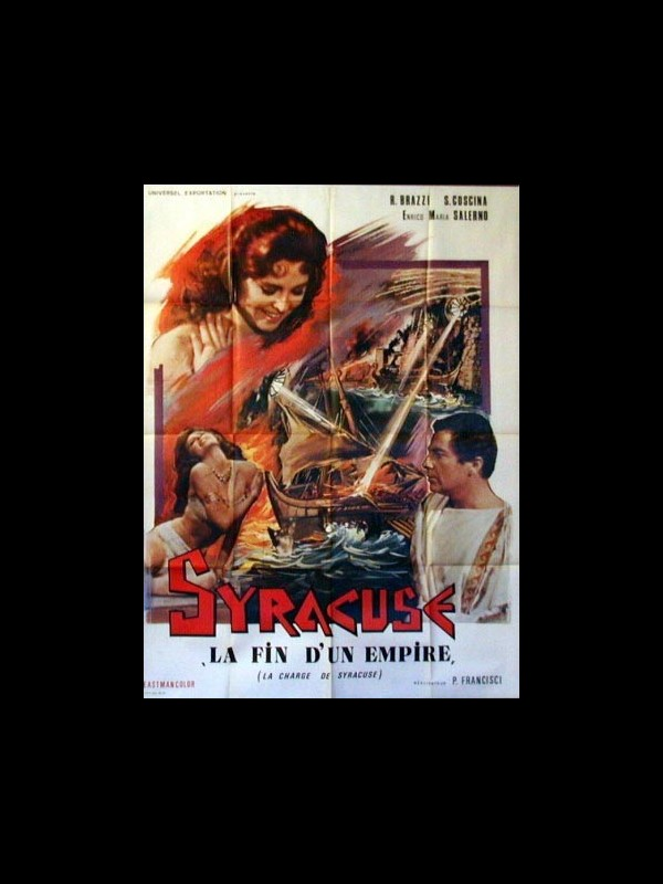 Affiche du film SYRACUSE LA FIN D'UN EMPIRE- LE SIEGE DE SYRACUSE- - L'ASSEDIO DI SIRACUSA