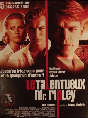 Affiche du film TALENTUEUX MR. RIPLEY (LE) - THE TALENTED MR. RIPLEY