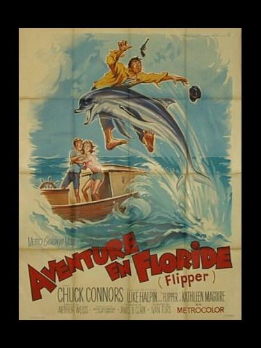 Affiche du film AVENTURE EN FLORIDE - FLIPPER