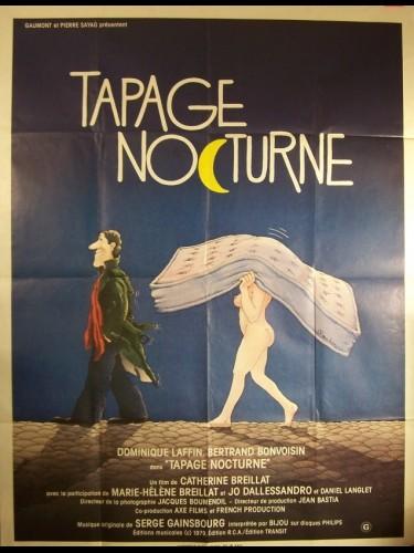 Affiche du film TAPAGE NOCTURNE