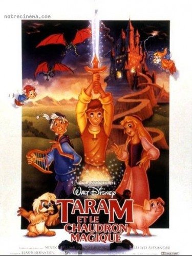 Affiche du film TARAM ET LE CHAUDRON MAGIQUE - THE BLACK CAULDRON