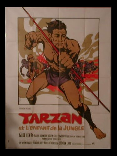 Affiche du film TARZAN ET L'ENFANT DE LA JUNGLE