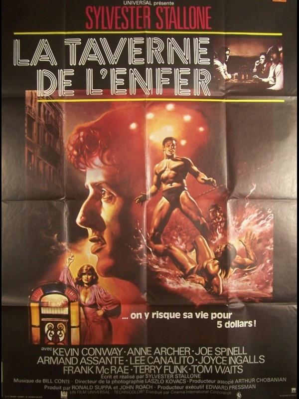 Affiche du film TAVERNE DE L'ENFER (LA) - PARADISE ALLEY