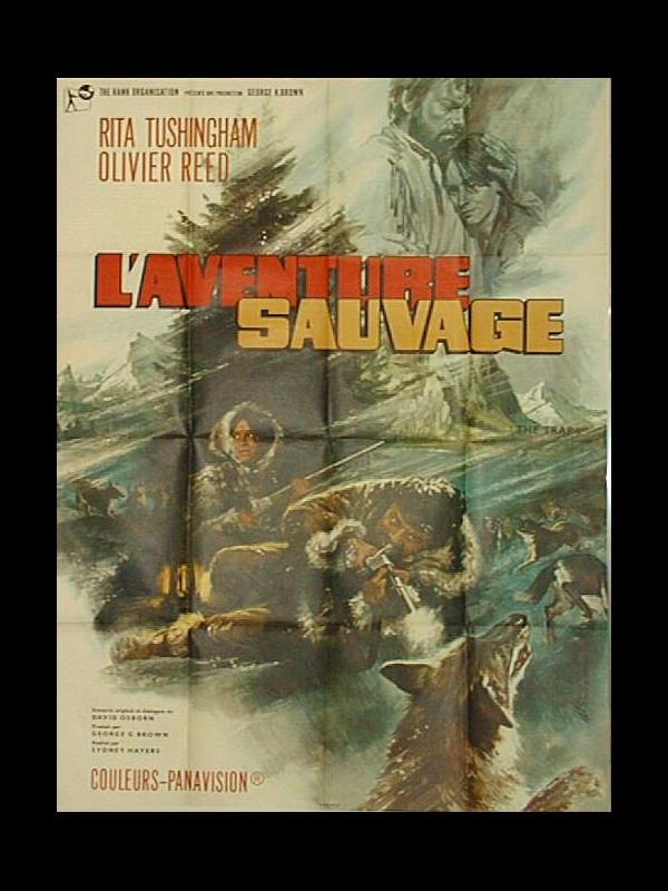 Affiche du film AVENTURE SAUVAGE (L')