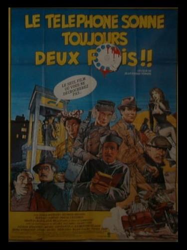 Affiche du film TELEPHONE SONNE TOUJOURS DEUX FOIS (LE)