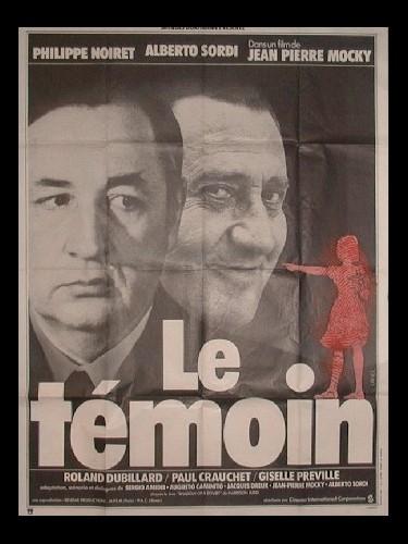 Affiche du film TEMOIN (LE)