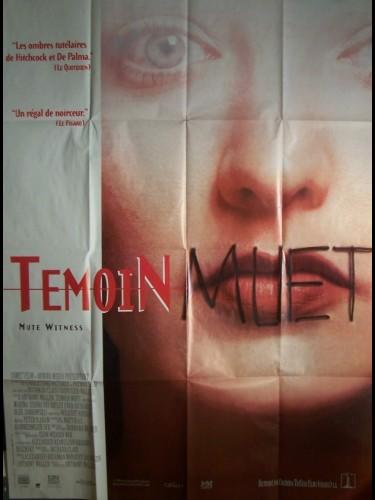 Affiche du film TEMOIN MUET - MUTE WITNESS