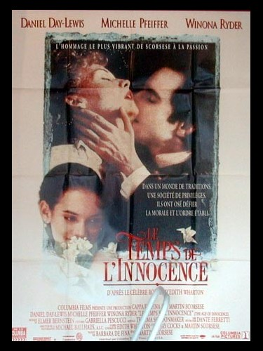 Affiche du film TEMPS DE L'INNOCENCE (LE) - THE AGE OF INNOCENCE