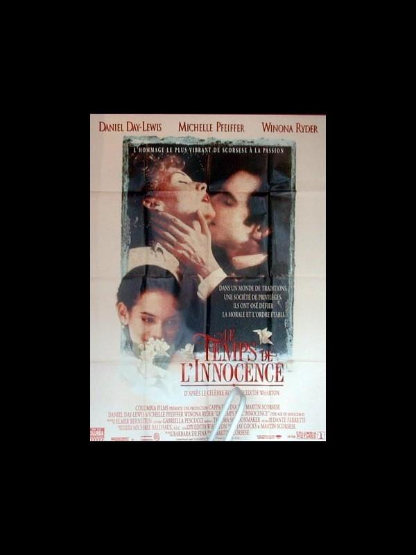 Affiche du film TEMPS DE L'INNOCENCE (LE) - THE AGE OF INNOCENCE