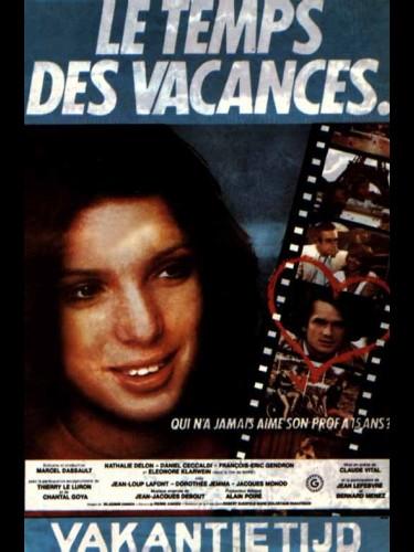 Affiche du film TEMPS DES VACANCES (LES)
