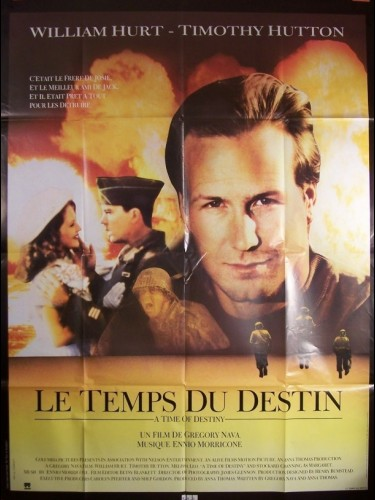 Affiche du film TEMPS DU DESTIN (LE) - A TIME OF DESTINY