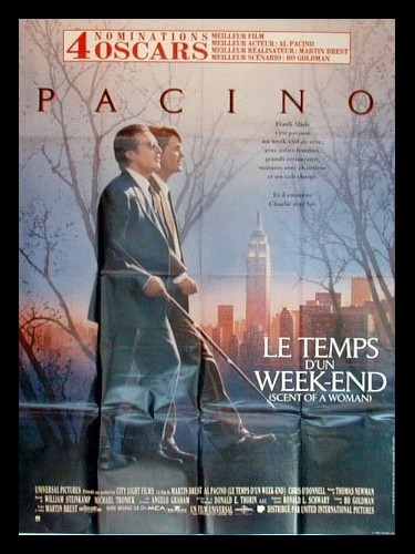 Affiche du film TEMPS D'UN WEEK-END (LE) - SCENT OF A WOMAN