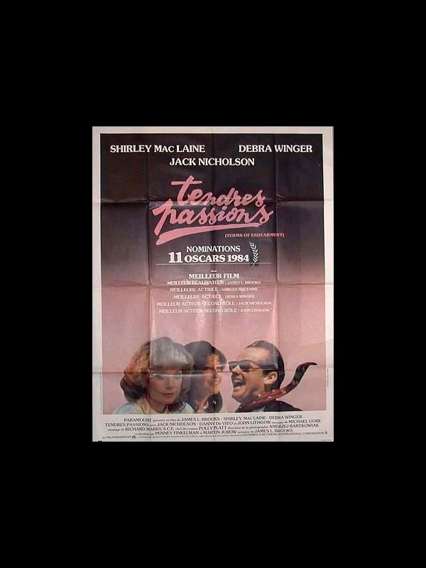 Affiche du film TENDRES PASSIONS - TERMS OF ENDEARMENT