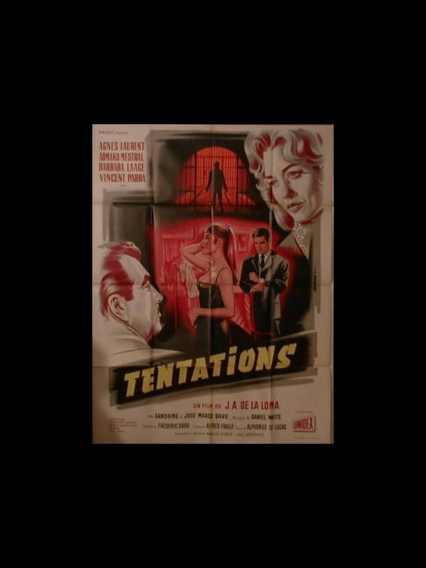 Affiche du film TENTATIONS