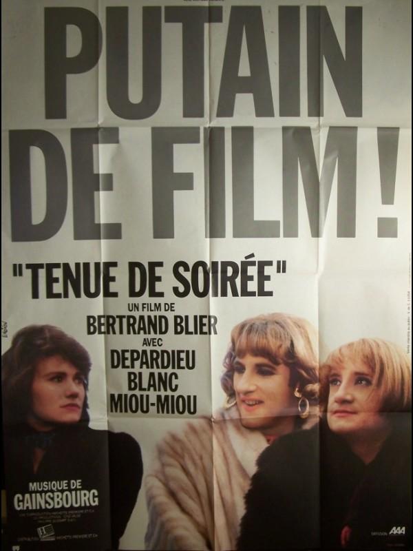 Affiche du film TENUE DE SOIREE
