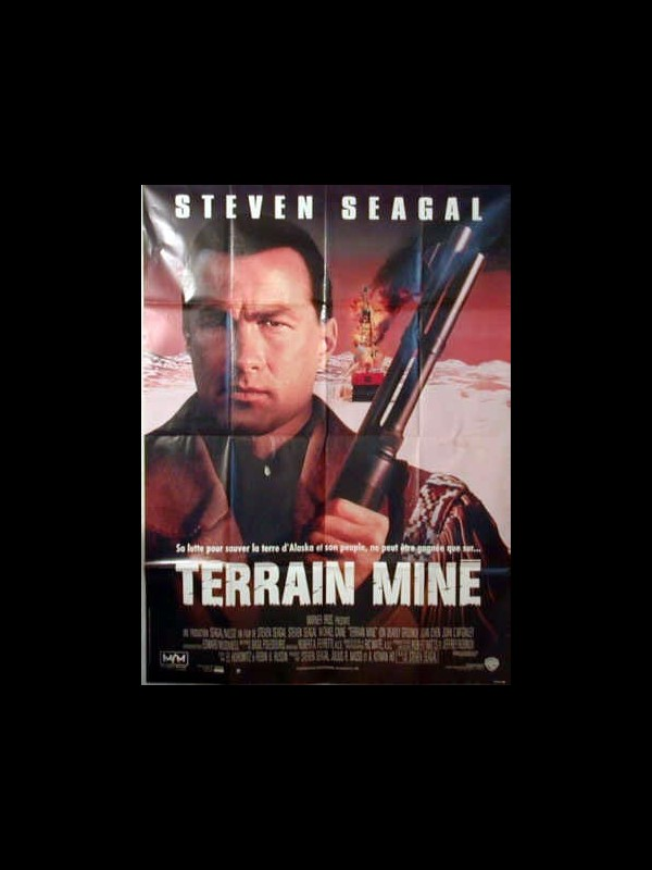 Affiche du film TERRAIN MINE - ON DEADLY GROUND