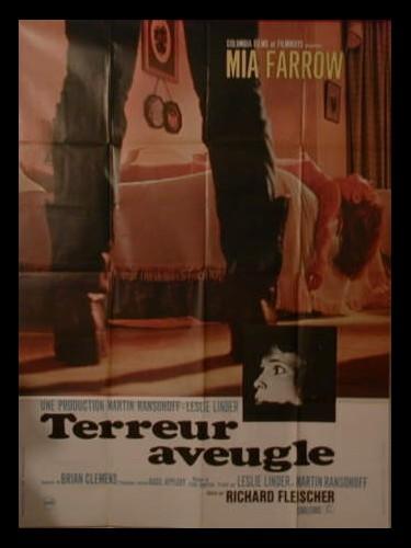 Affiche du film TERREUR AVEUGLE - BLIND TERROR