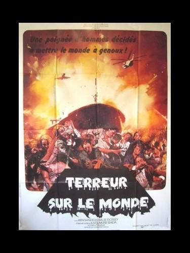 Affiche du film TERREUR SUR LE MONDE