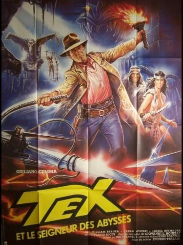 Affiche du film TEX ET LE SEIGNEUR DES ABYSSES - TEX E IL SIGNORE DEGLI ABISSI