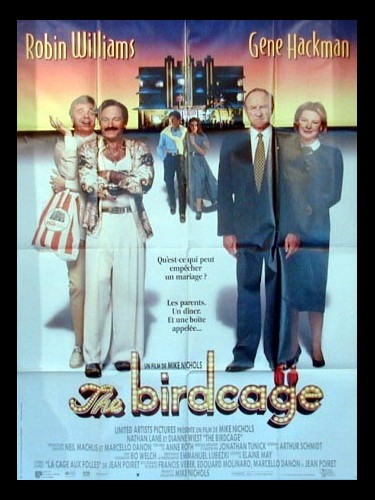 Affiche du film THE BIRDCAGE