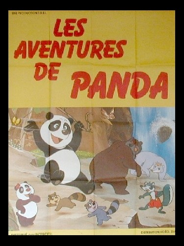 Affiche du film AVENTURES DE PANDA (LES)