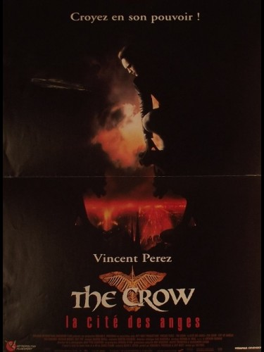 Affiche du film THE CROW - LA CITÉ DES ANGES -